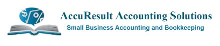 Accuresult accounting solutions  business logo